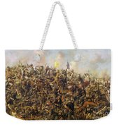 Custer's Last Stand From The Battle Of Little Bighorn Weekender Tote Bag