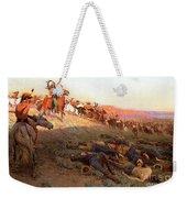 Custer's Last Stand Weekender Tote Bag by Richard Lorenz