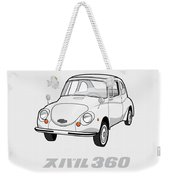 Custom Color Subaru 360 Weekender Tote Bag
