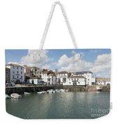 Custom House Quay And Falmouth Parish Church Weekender Tote Bag