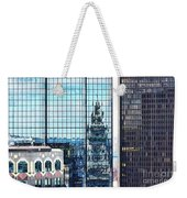 Custom House Reflection Weekender Tote Bag