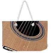 Custom Made Guitar Weekender Tote Bag