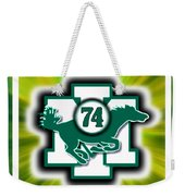 Sports Art Custom Piece Mount Ida College Player Memorial Weekender Tote Bag