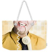 Customer Service Feedback Weekender Tote Bag