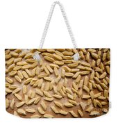 Cut Kopytka On Breadboard Abstract Weekender Tote Bag