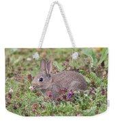 Cute Baby Bunny Weekender Tote Bag