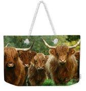 Cute Fluffy Cows Weekender Tote Bag