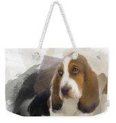 Cute Little Basset Artesien Normand Puppy Weekender Tote Bag