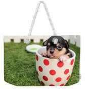 Cute Puppy Weekender Tote Bag