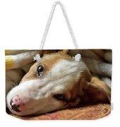 Cute Puppy Cuddles Weekender Tote Bag