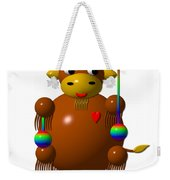 Cute Yak With Yo Yos Weekender Tote Bag