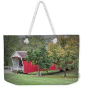 Cutler-donahoe Covered Bridge Weekender Tote Bag