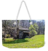 Cuttalossa Mill In The Springtime Weekender Tote Bag