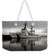Cutter In Alaska Weekender Tote Bag