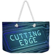 Cutting Edge Concept. Weekender Tote Bag