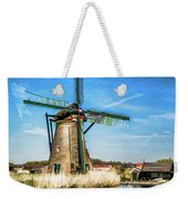 Cutting Through The Wind Weekender Tote Bag