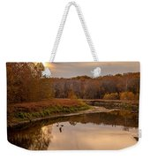 Cuyahoga Valley Autumn Sunset Weekender Tote Bag