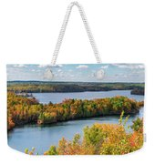 Cuyuna Country State Recreation Area - Autumn #1 Weekender Tote Bag