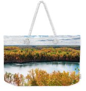 Cuyuna Country State Recreation Area - Autumn #2 Weekender Tote Bag