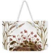 Cyclamen & Lavender, 1613 Weekender Tote Bag