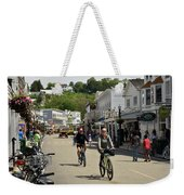 Cycling The Island Weekender Tote Bag