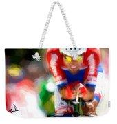 Cyclist Three Weekender Tote Bag