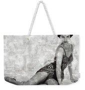 Cyd Charisse Hollywood Actress And Dancer Weekender Tote Bag