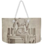 Cyd Charisse Hollywood Actress, Pinup And Dancer Weekender Tote Bag
