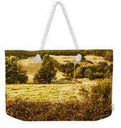 Cygnet Rustic Farming Fields Weekender Tote Bag