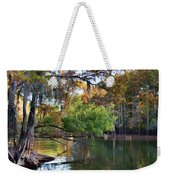 Cypress Bend Weekender Tote Bag