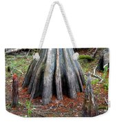 Cypress Footprint Weekender Tote Bag