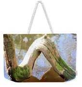 Cypress Knees Weekender Tote Bag