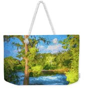 Cypress Tree By The River Weekender Tote Bag