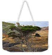 Cypress Tree In Point Lobos State Reserve Near Monterey-california  Weekender Tote Bag