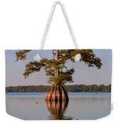 Cypress Tree On Reelfoot Lake Weekender Tote Bag