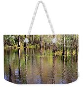 Cypress Trees Along The Hillsborough River Weekender Tote Bag
