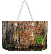 Cypress Winter Colors Weekender Tote Bag
