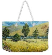 Cypresses At Lydenburg Weekender Tote Bag