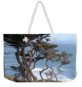 Cypress On The Cliff 15 Weekender Tote Bag
