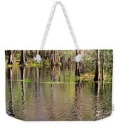 Cypresses Reflection Weekender Tote Bag