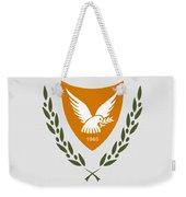 Cyprus Coat Of Arms Weekender Tote Bag