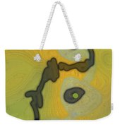 Cyto Yellow Weekender Tote Bag