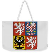 Czech Republic Coat Of Arms Weekender Tote Bag