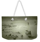 D-day Reenactment Weekender Tote Bag
