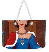 D. Leonor Telles - A Story Of Loves And Hates  A Story Of Power Weekender Tote Bag