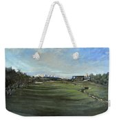 D P World Tour Championship - 18th Tee Weekender Tote Bag