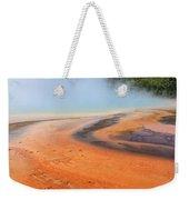 D09132 Colorful Grand Prismatic Spring Weekender Tote Bag