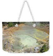D09146 Sulpher Cauldron Area 2 Weekender Tote Bag