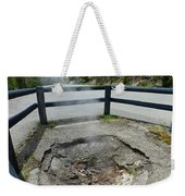 D09149 Sulphur Vent Broke Through Pavement Weekender Tote Bag