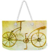 Da Vinci Inventions First Bicycle Sketch By Da Vinci Weekender Tote Bag